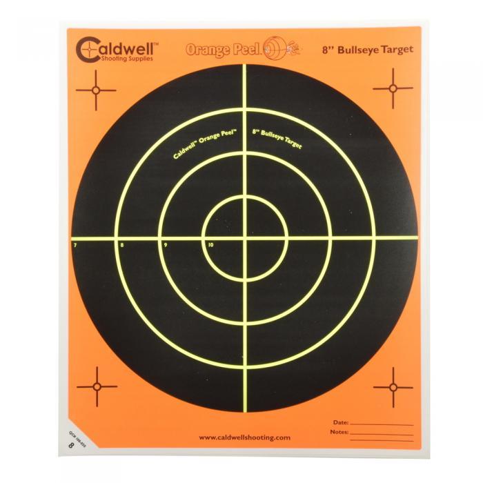 コールドウェル 標的 Orange Peel 8″ Bullseye Target : 標的 : ファー ...